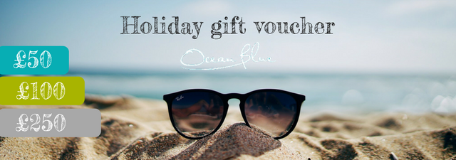 Christmas gift voucher for Ocean Blue Cornwall