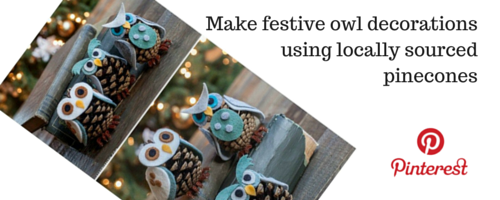 christmas crafts using pinecones