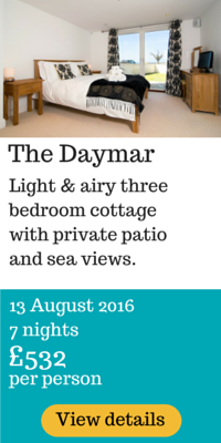 Cornwall 2016 holiday in Daymar