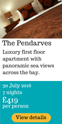 Pendarves holidays 2016