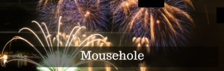 Mousehole fireworks display 2015