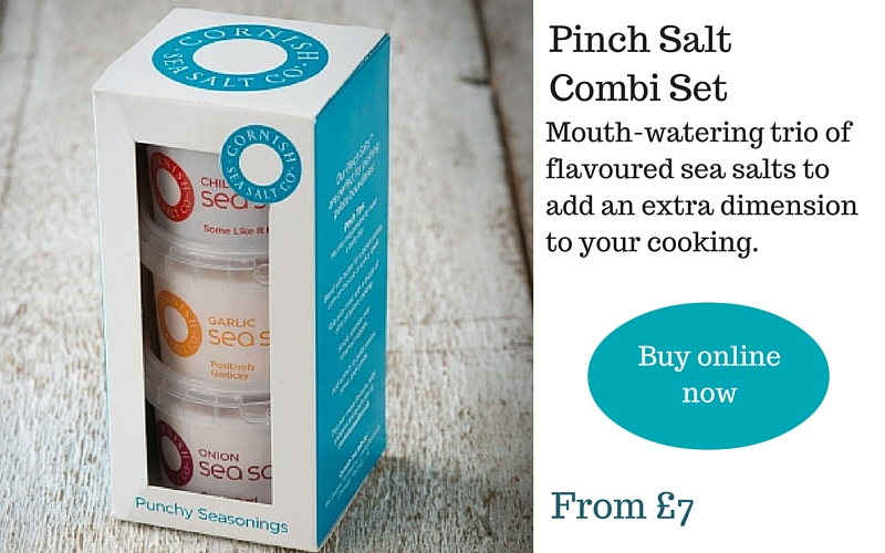 Cornish sea salt gift set