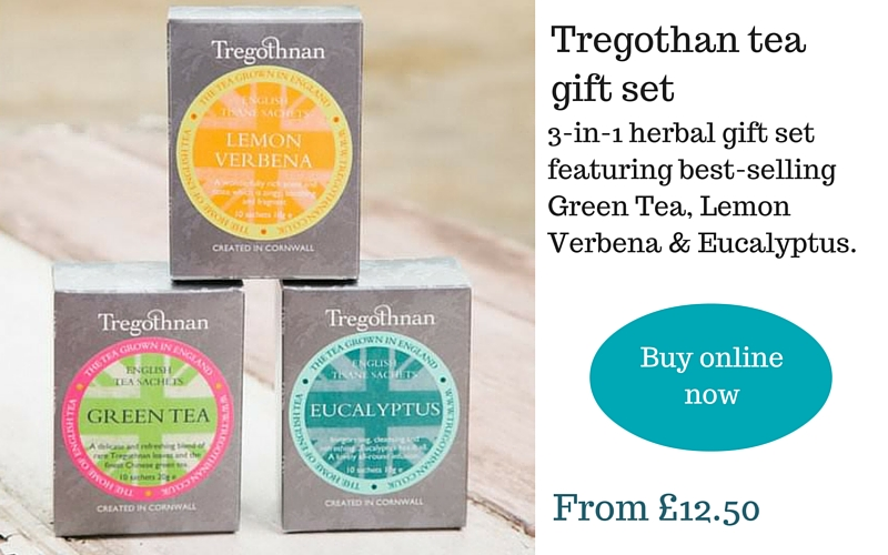 Tregothan Tea gift set