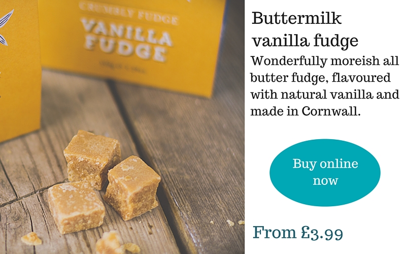 Buttermilk Cornish vanilla fudge