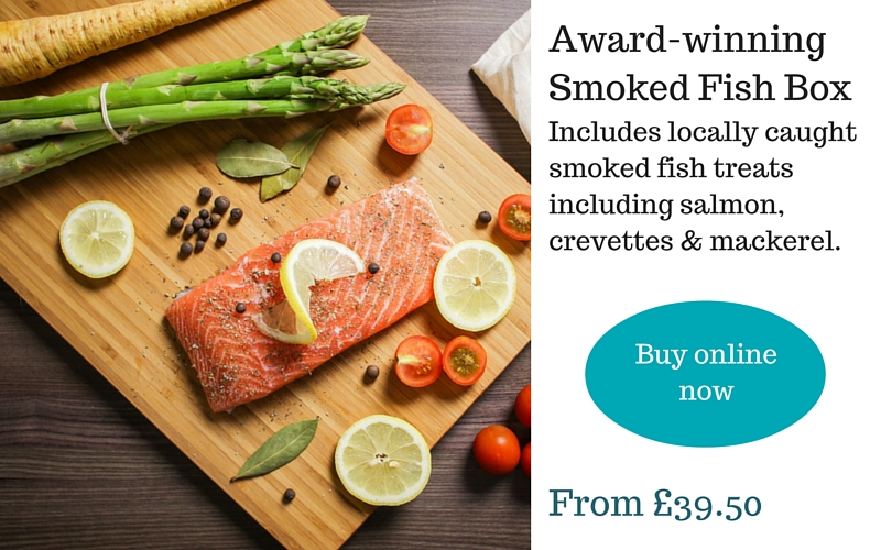 Cornish smoked fish gift box