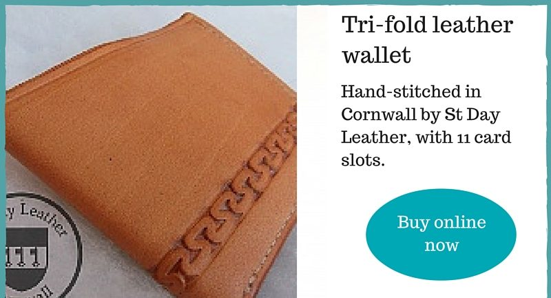 Men's Wallet made in Cornwall
