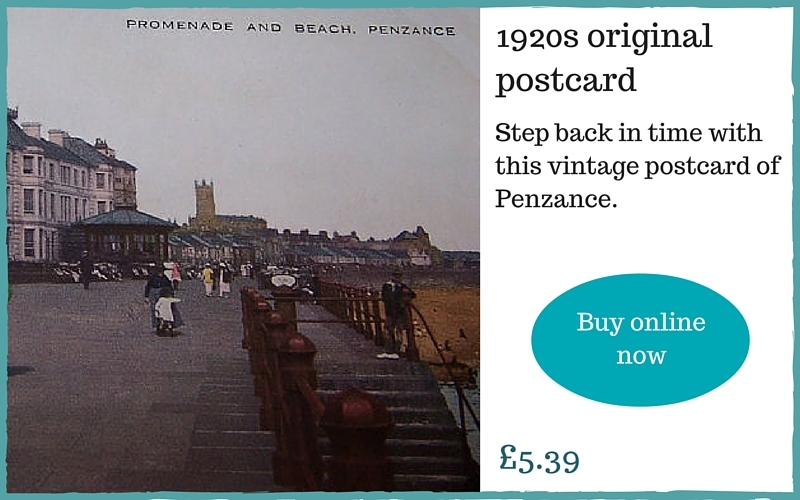 Gift for him - vintage Cornish postcards