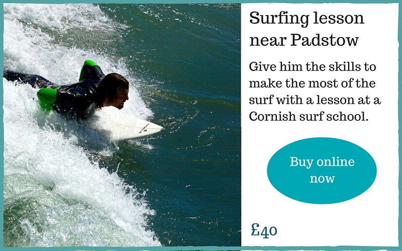 Gift guide for men: surfing lesson