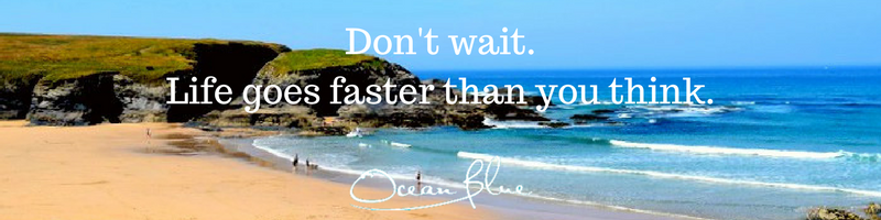 Motivational Quotes About Travel Ocean Blue Cornwall