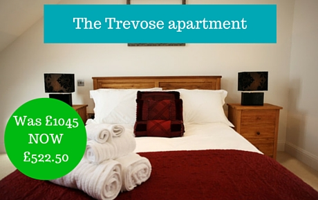 luxury apartment near Padstow in Cornwall