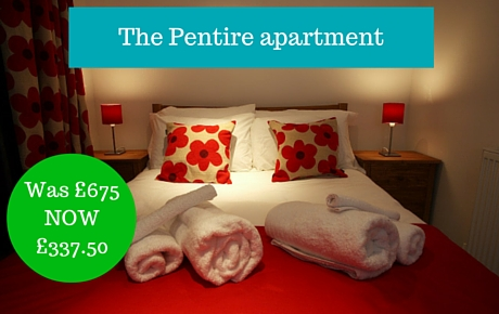 Pentire - luxury apartment near Padstow Cornwall