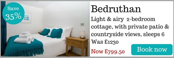 Bedruthan holiday cottage near Padstow