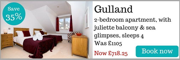 Gulland apartment near Padstow