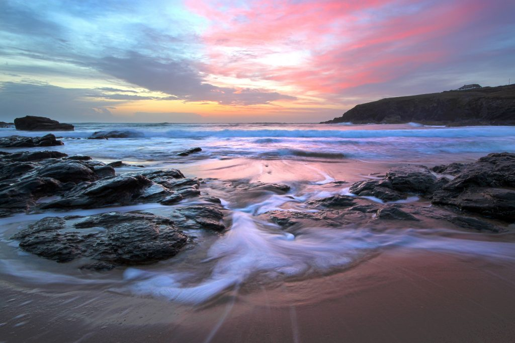 Poldhu Cove by Andrew Hocking
