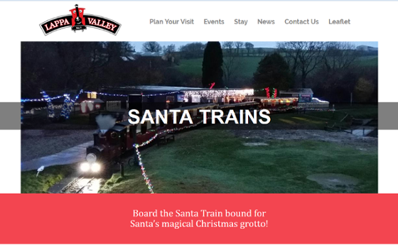 Lappa Valley Santa by Steam