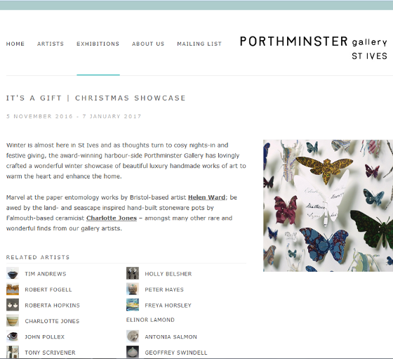 porthminster gallery Christmas showcase