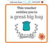 Free Mothers' day voucher for a hug