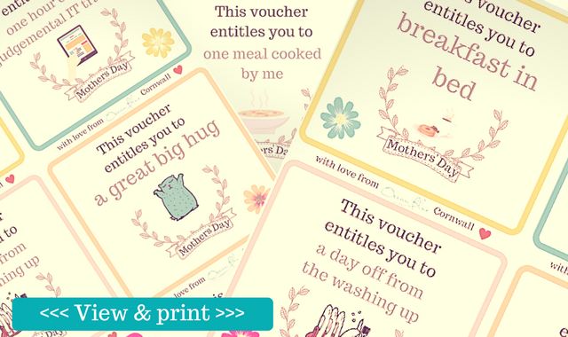 free mothers day vouchers
