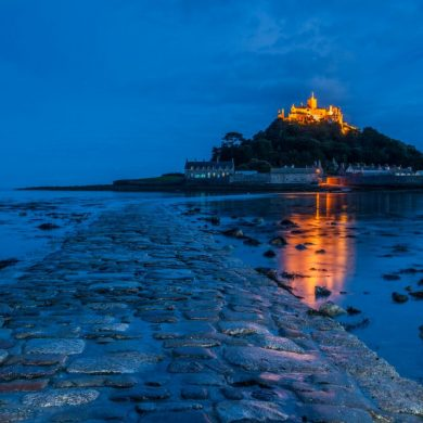 St Michael's Mount by David Ross
