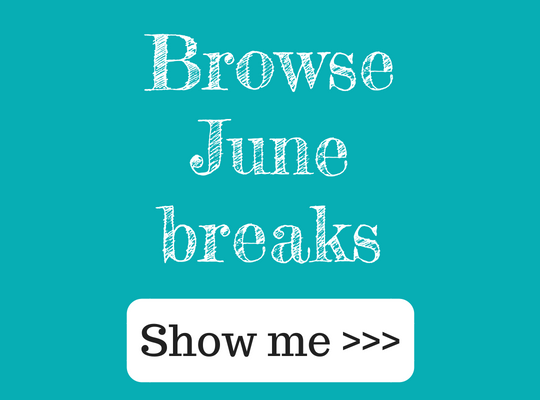 Browse June breaks at Ocean Blue