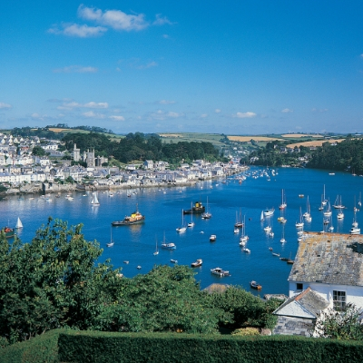 Ocean Blue what's on in Cornwall Fowey Regatta