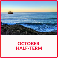 October half-term holidays in Cornwall