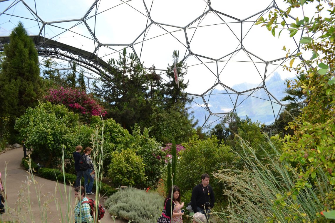 Eden Project at Easter