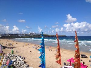 Fistral Beach by Marion Stringer