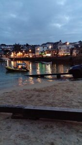 St Ives Harbour by Karen Belfort