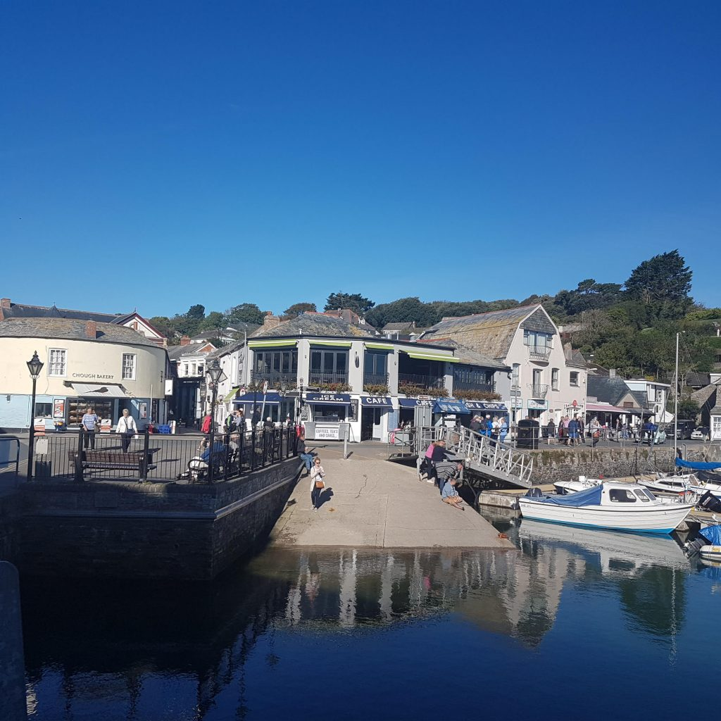 Padstow in the sunshine