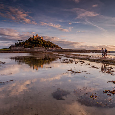 St Michael's Mount by david swift Ocean Blue photo competition