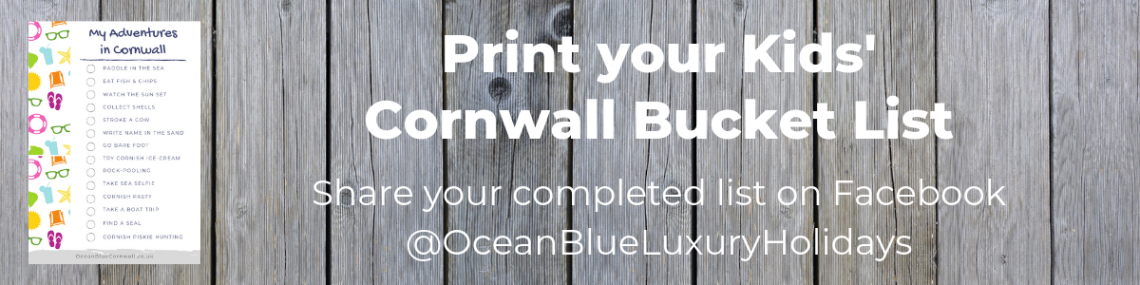 Share your completed Kids' Cornwall Bucket List