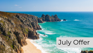 Cornwall holiday apartments Summer July offer