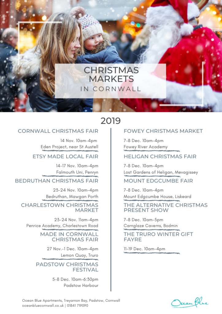 Christmas markets in Cornwall 2019
