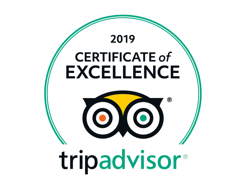 tripadvisor ocean blue 2019_certificate of excellence