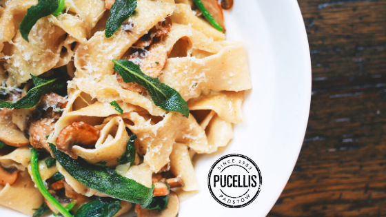 Pucelli's Italian restaurant in Padstow