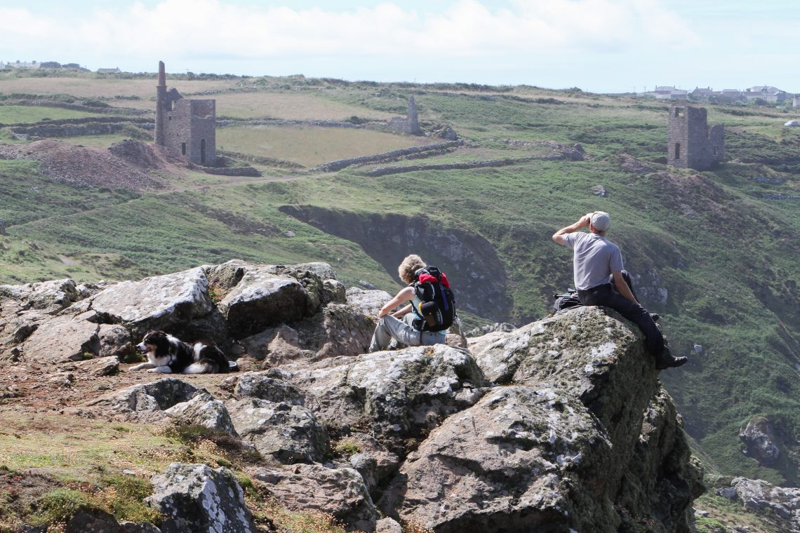 Botallack engine houses, by Phil Wallace