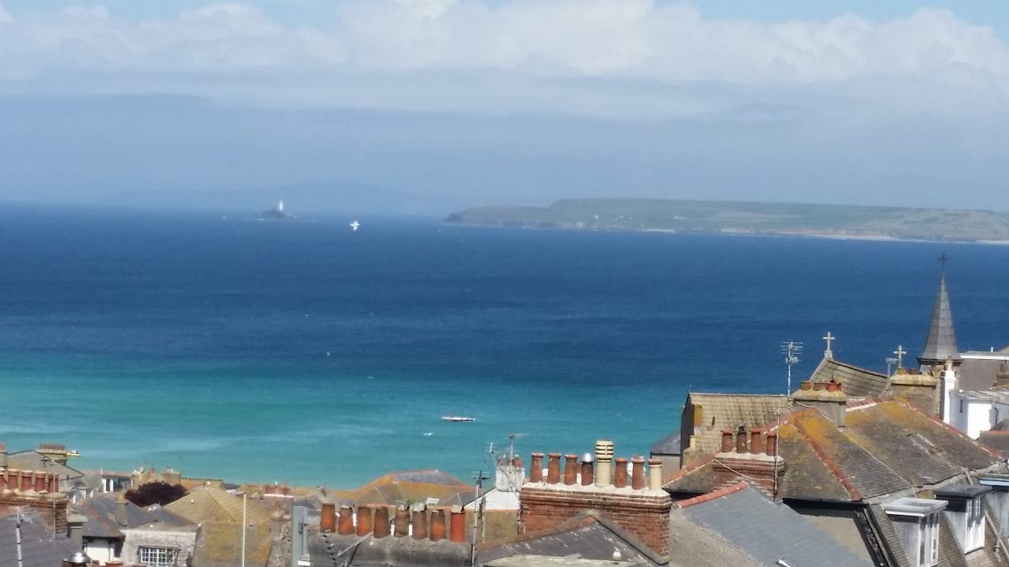 St Ives rooftops by Joanne Holland