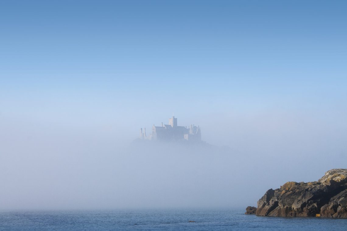 St Michael's Mount in the mist, by Diane Griffiths