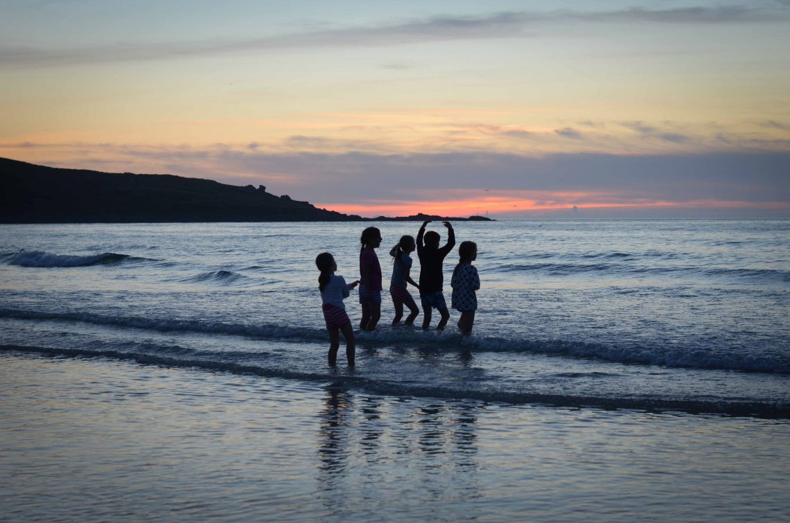 St Ives at sunset by Emily Williams