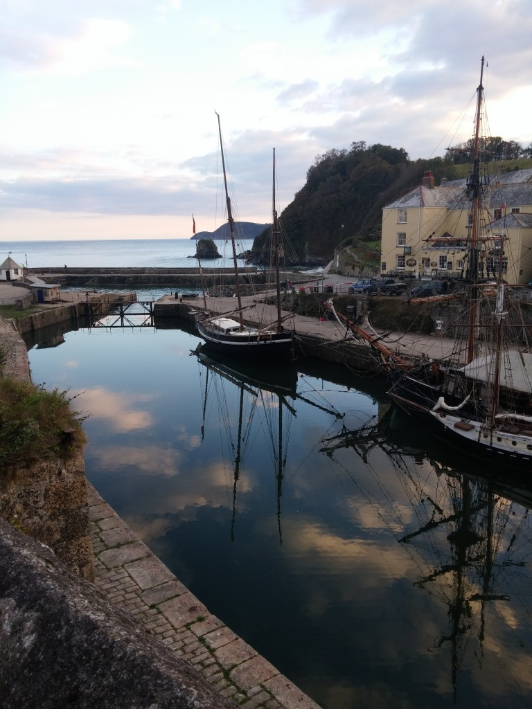 Charlestown Harbour Cornwall