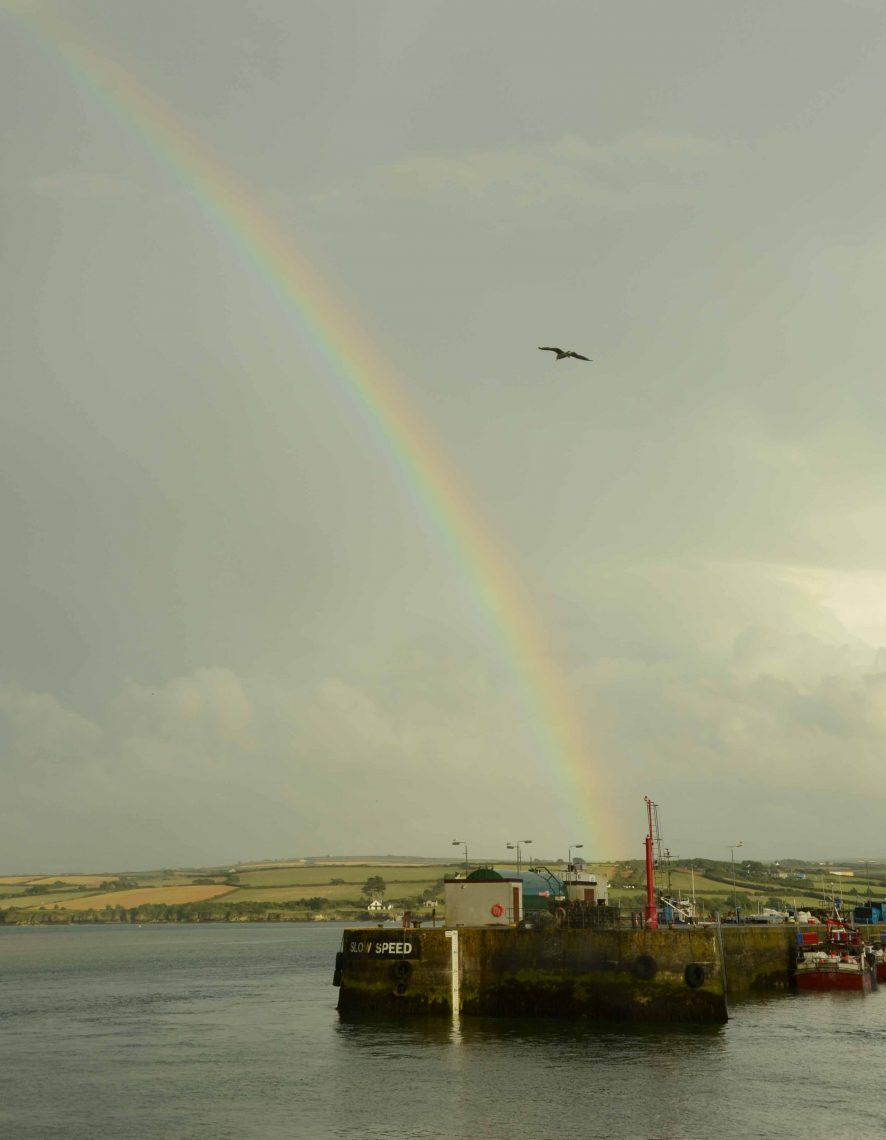 Rainbow at Padstow Harbour