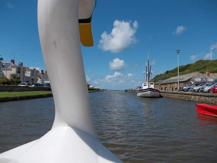 The view from Bude Canal Cornwall