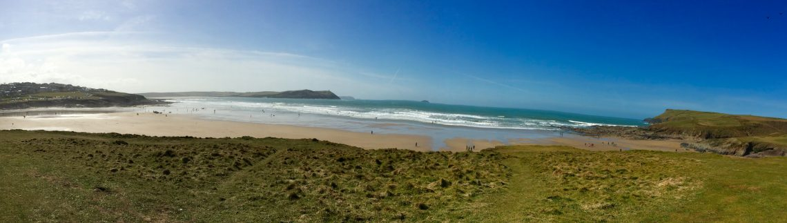Polzeath beach Cornwall