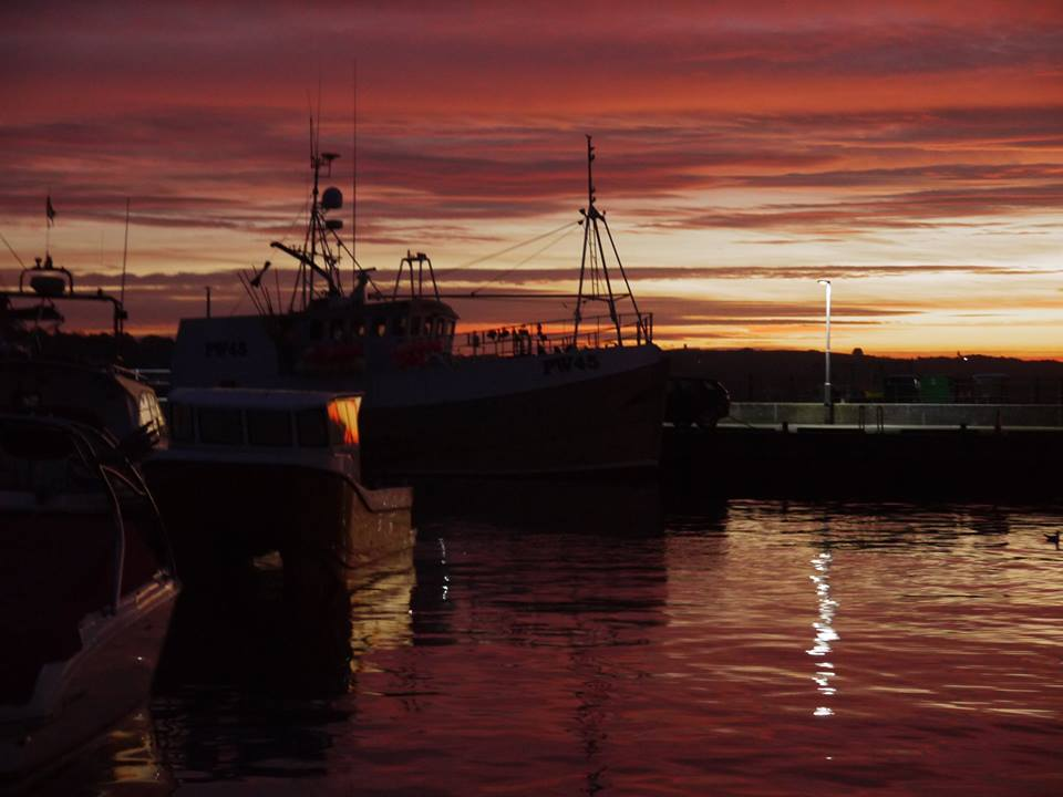 Sunrise at Padstow Harbour, Cornwall