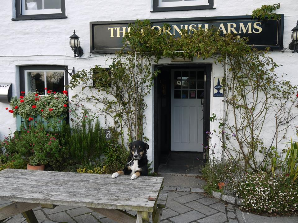 The Cornish Arms pub St Merryn, Cornwall